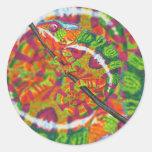 Hidden Chameleon stickers