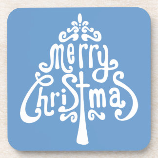 Hidden Christmas Message Coaster