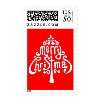 Hidden Christmas Message Stamp