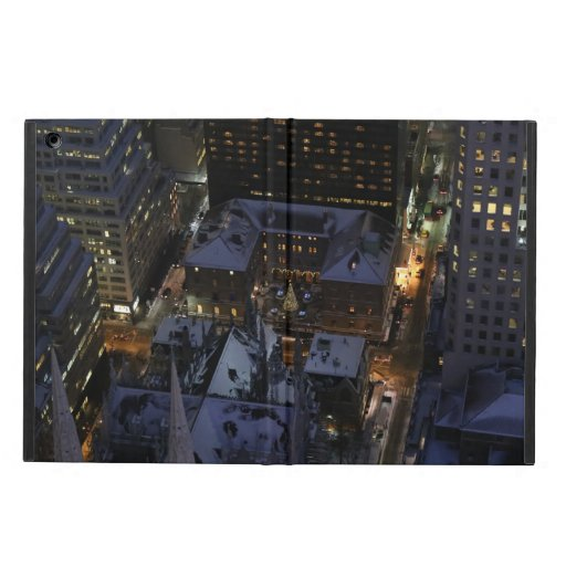 Hidden Christmas Tree in Manhattan at Night Case For iPad Air