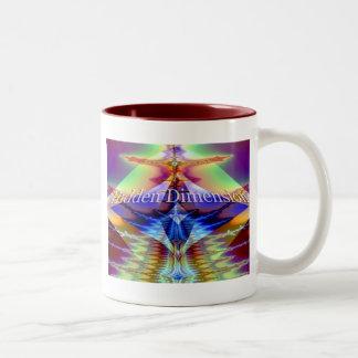 Hidden Dimension Two-Tone Coffee Mug