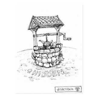 Hidden Dragon Postcard