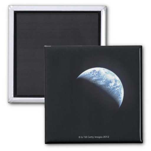 Hidden Earth 2 Inch Square Magnet