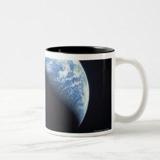 Hidden Earth Two-Tone Coffee Mug