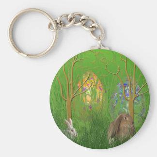 Hidden Easter Eggs Keychain