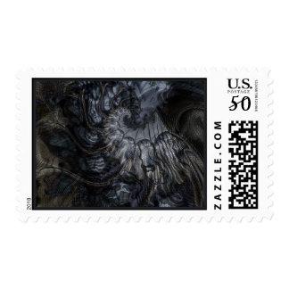 Hidden Faces Stamp