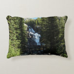 Hidden Falls in Grand Teton National Park Decorative Pillow
