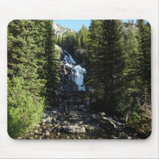 Hidden Falls in Grand Teton National Park Mouse Pad