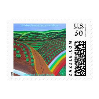 Hidden Forest Postage/stamp Postage