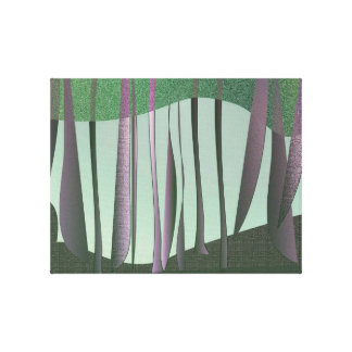Hidden forest wrapped canvas