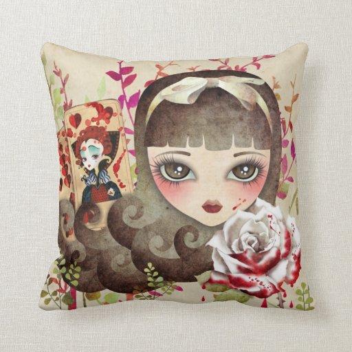 Hidden Garden American MoJo Pillow