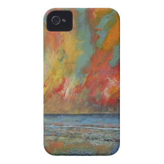 Hidden Heart Lava Sky iPhone 4 Case