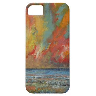 Hidden Heart Lava Sky iPhone SE/5/5s Case