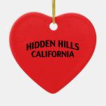 Hidden Hills California Ornament