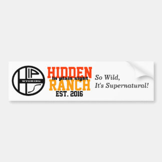 Hidden In Plain Sight Ranch Bumper Sticker