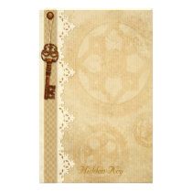 Hidden Key - Steampunk Stationery