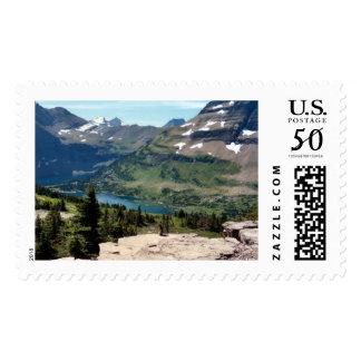 Hidden Lake Glacier National Park and Rodent Postage