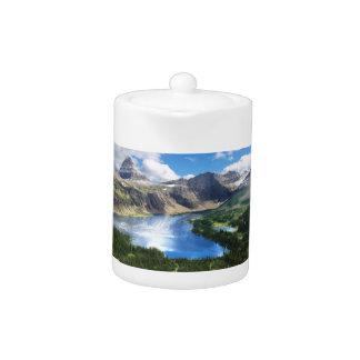 Hidden Lake in Glacier National Park Teapot