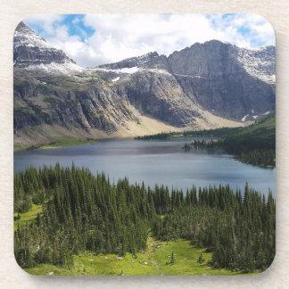 Hidden Lake Overlook Glacier National Park Montana Beverage Coaster