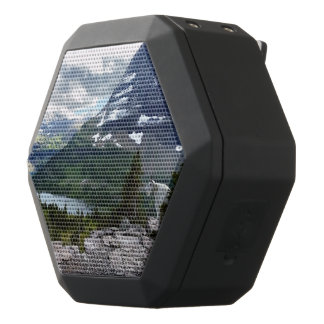 Hidden Lake Overlook Glacier National Park Montana Black Bluetooth Speaker