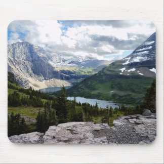 Hidden Lake Overlook Glacier National Park Montana Mouse Pad
