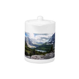 Hidden Lake Overlook Glacier National Park Montana Teapot