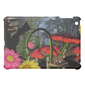 Hidden Mad Hatter iPad case