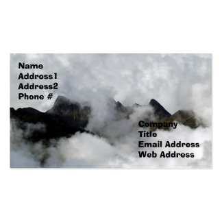 Hidden Mountain,Business Card
