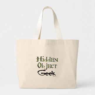 Hidden Object Geek Canvas Bag