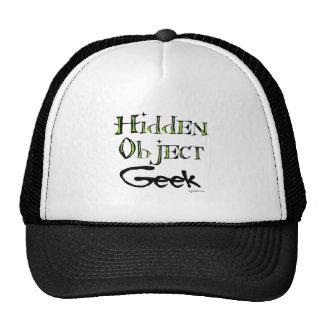 Hidden Object Geek Mesh Hats