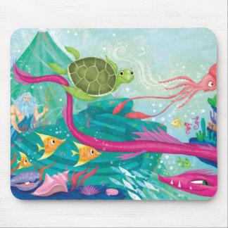 Hidden Ocean Treasures Mouse Pad