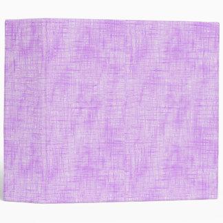 Hidden Pain in Purple 3 Ring Binder