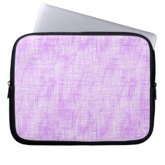 Hidden Pain in Purple Laptop Computer Sleeves