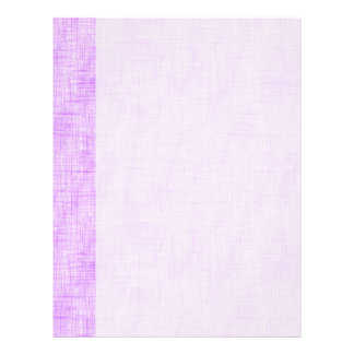 Hidden Pain in Purple Letterhead