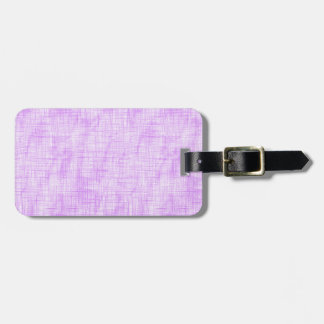 Hidden Pain in Purple Luggage Tag