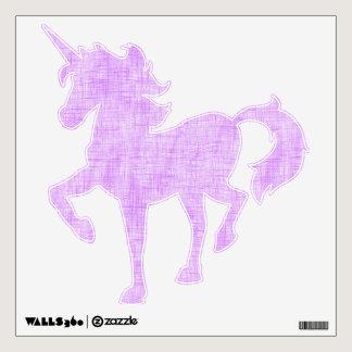 Hidden Pain in Purple Wall Decal