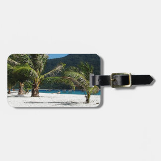 Hidden Paradise Luggage Tag
