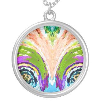 Hidden Pleasures: Natural Fountains Round Pendant Necklace