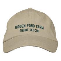 Hidden Pond Farm Equine Rescue Cap