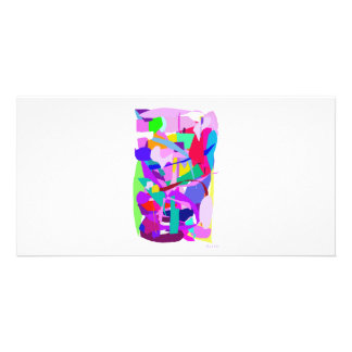 Hidden Purple Photo Card