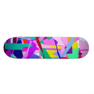 Hidden Purple Skate Board Decks