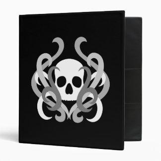 Hidden skull goth design binder
