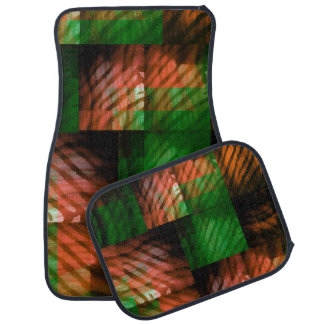 Hidden Stripes of the Jungle Tiger Car Floor Mat
