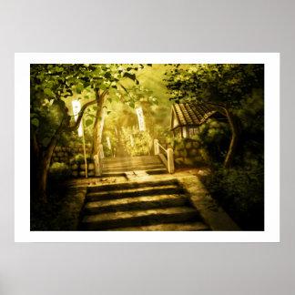 """Hidden Temple"" Poster"