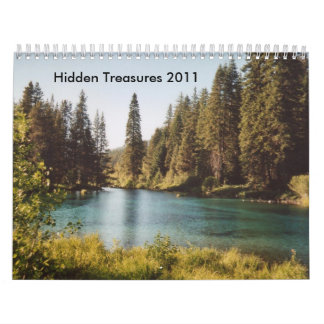 Hidden Treasures 2011 Calendar