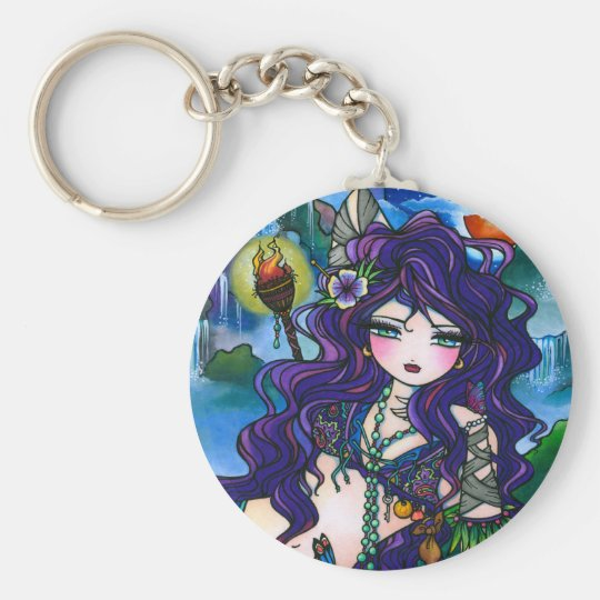"""""""Hidden Treasures"""" Mermaid Keychain"""