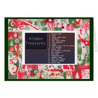 Hidden Treasures Puzzle Card