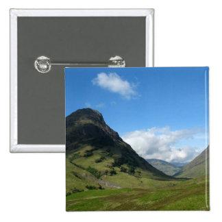 Hidden Valley Glencoe Scotland Pinback Buttons