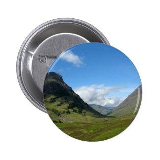 Hidden Valley Glencoe Scotland Button
