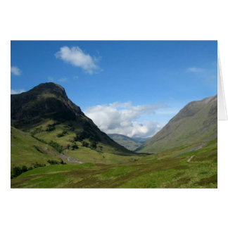 Hidden Valley Glencoe Scotland Card